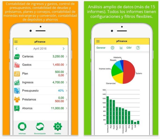 pFinance_Finanzas_Personales_App_Store