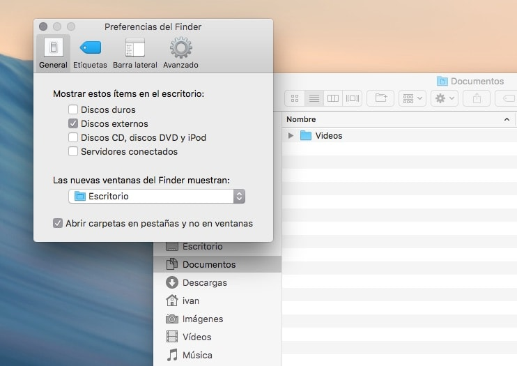 ¿Cómo puedes conseguir que el Finder del Mac cargue más rápidamente?