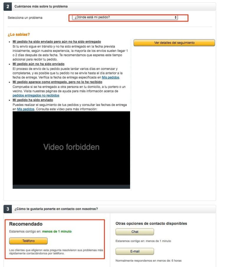 Amazon España pedidos retrasos