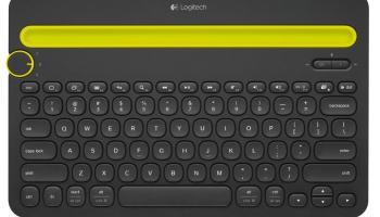 Logitech K480 - Teclado multidispositivo Bluetooth