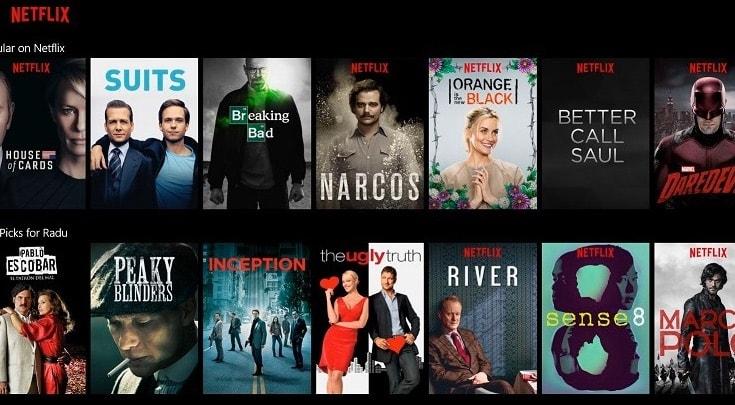 Cómo ver las series de Netflix Estados Unidos, UK o cualquier otro país desde España
