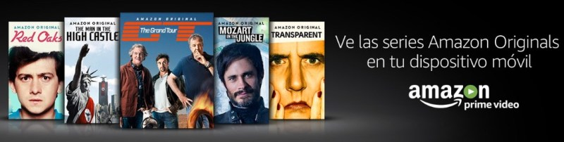 Amazon España acaba de desvelar que Amazon prime Video está disponible en España