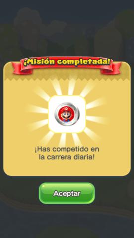 Modo carreras Super Mario Run