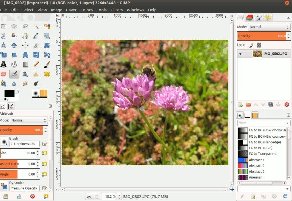 GIMP - Alternativa gratuita a Photoshop