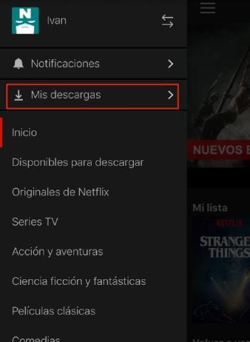 Descarga capitulos netflix offline