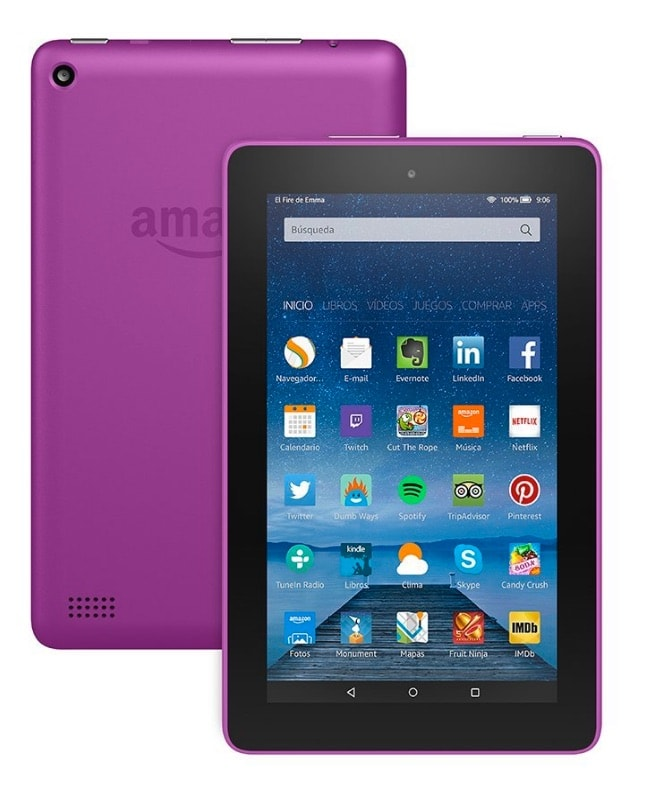 "¡Oferta! Tablet Fire de 7"" de Amazon por menos de 45 euros"