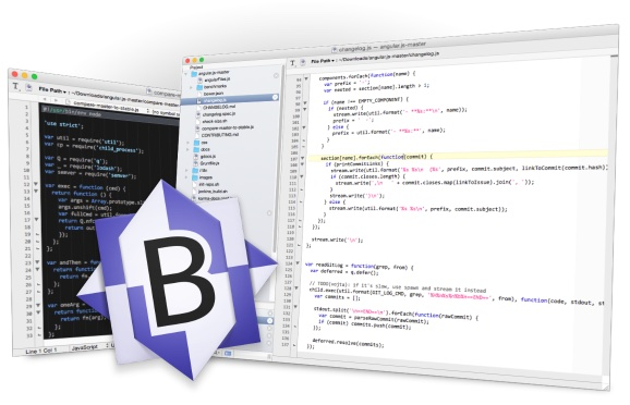 BBedit (gratis y versión de pago)