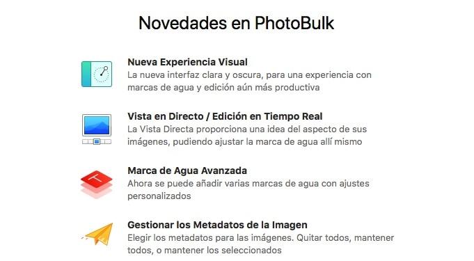 PhotoBulk 2: una excelente actualización de este editor de imágenes por lotes (Mac)