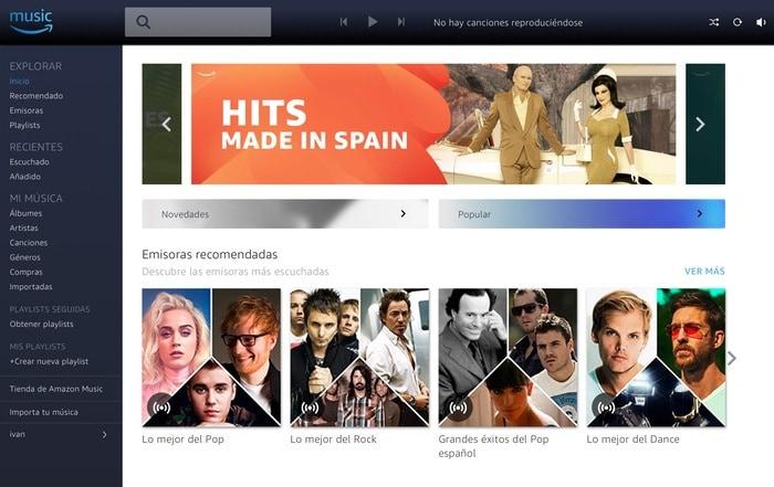 Amazon Music está disponible para smartphone, tablet Android y iPad, iPod Touch, PC et MAC, y está integrada en Kindle Fire.