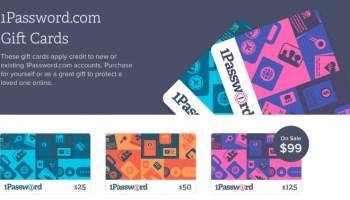 1Password.com Gift Cards