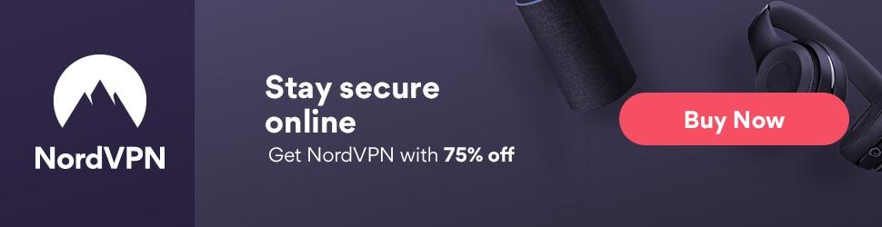 Oferta VPN 2019: NordVPN 75% descuento
