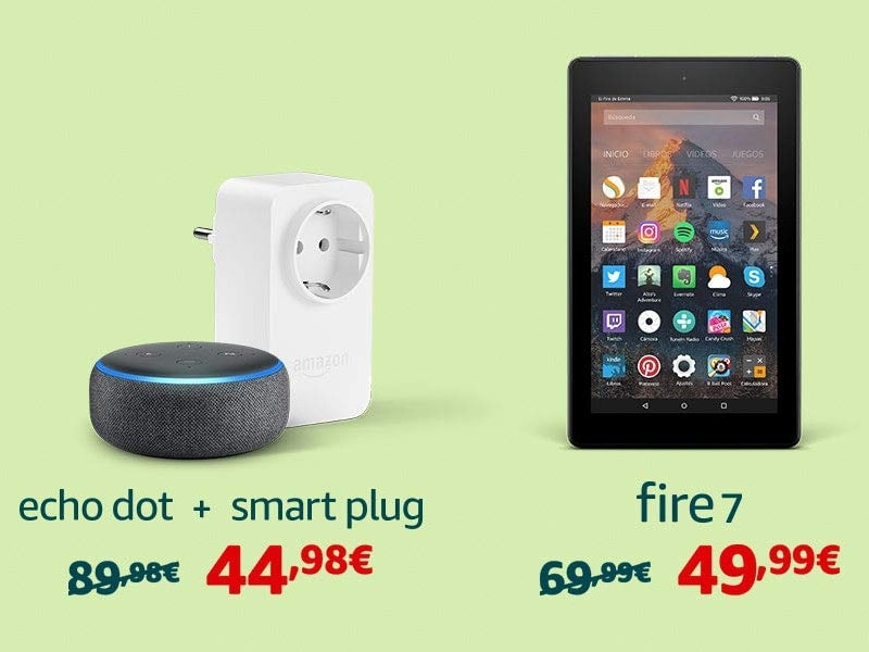 ofertas dispositivos amazon
