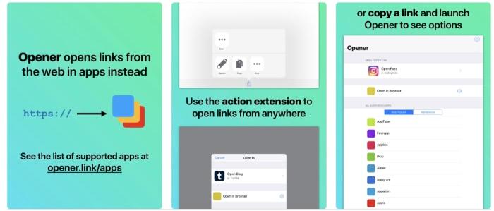 opener links app ipad