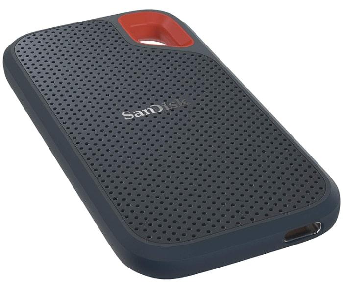 SanDisk Extreme - Disco duro portable SSD (500 GB, hasta 550 MB/s de Velocidad de Lectura)