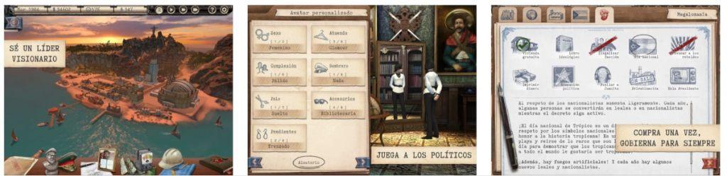 tropico ios app game