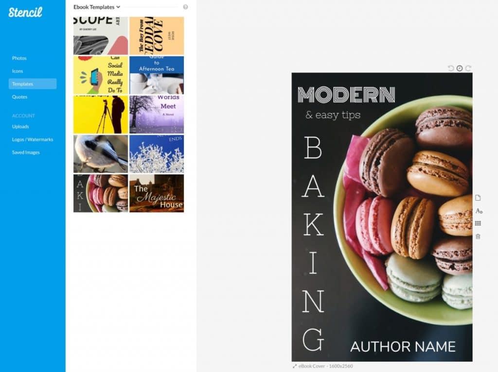 Cómo podemos crear la portada del libro/ebook