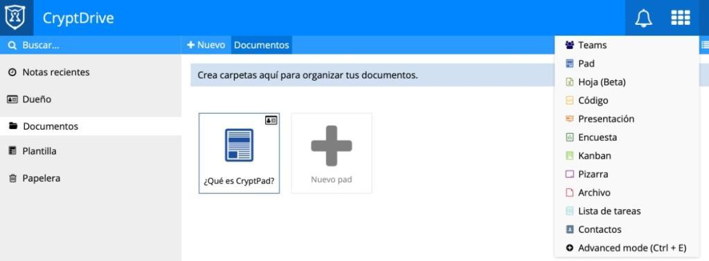 Alternativa a Documentos, Hojas de Cálculo y Presentaciones de Google