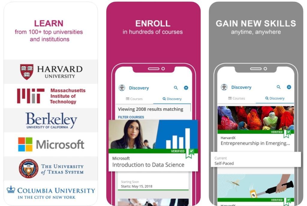 edX: Aprende con cursos en línea