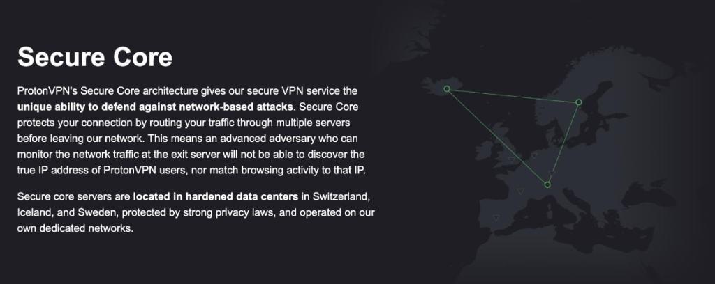 ProtonVPN Secure Core Double VPN