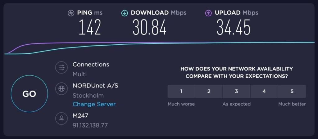 Double VPN en Países Bajos Pasando luego a Suecia