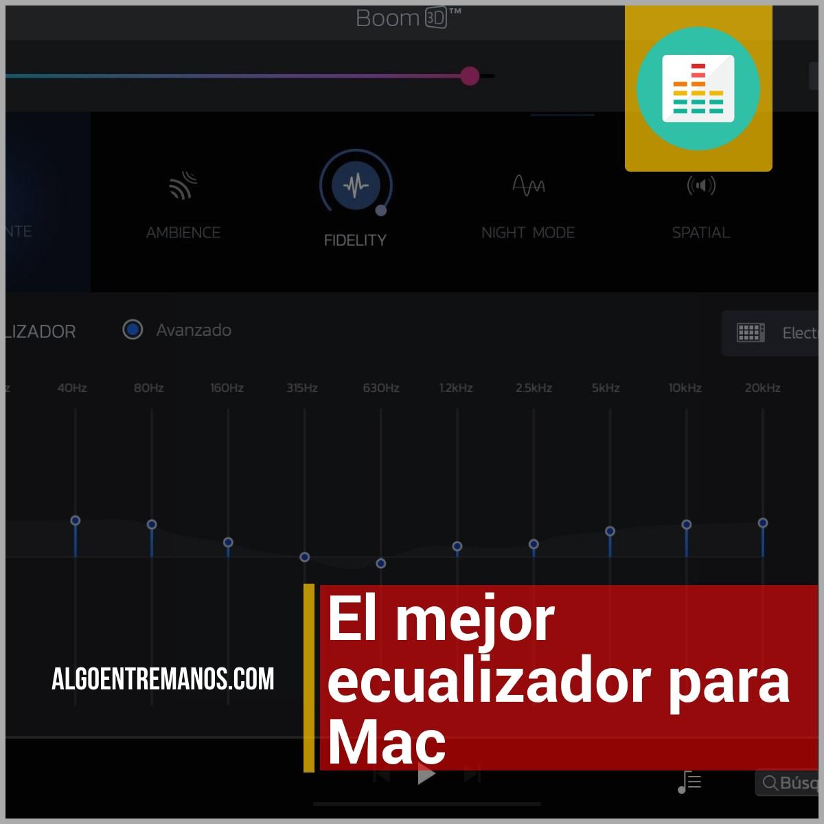 Los mejores ecualizadores para Mac