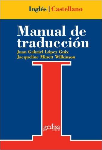 Manual de traducción inglés castellano