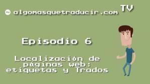Localización de páginas web: etiquetas y Trados [AMQT TV 06]