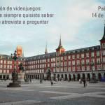 Charla de introducción a la localización de videojuegos en Madrid el 14 de diciembre