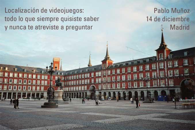 Charla localización de videojuegos ProZ Madrid