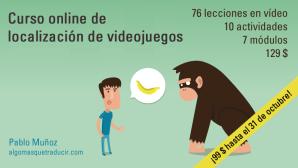 Curso online de localización de videojuegos Pablo Muñoz
