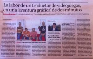 Localización de videojuegos en La Voz de Almería