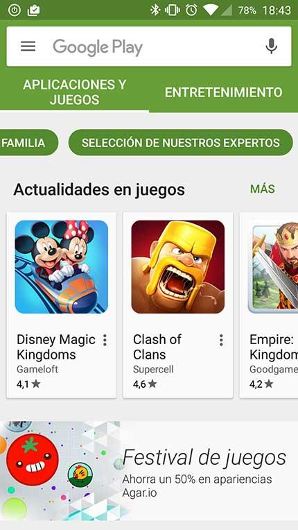Internacionalización Android
