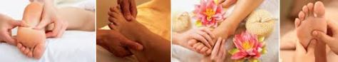 massage pied 4 images en un
