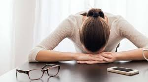 femme fatiguee