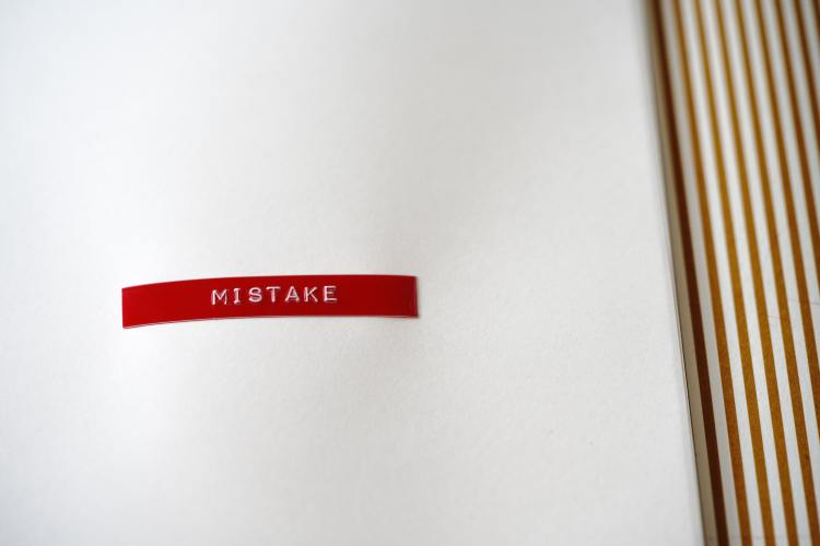 writing mistakes don't have to drag you down