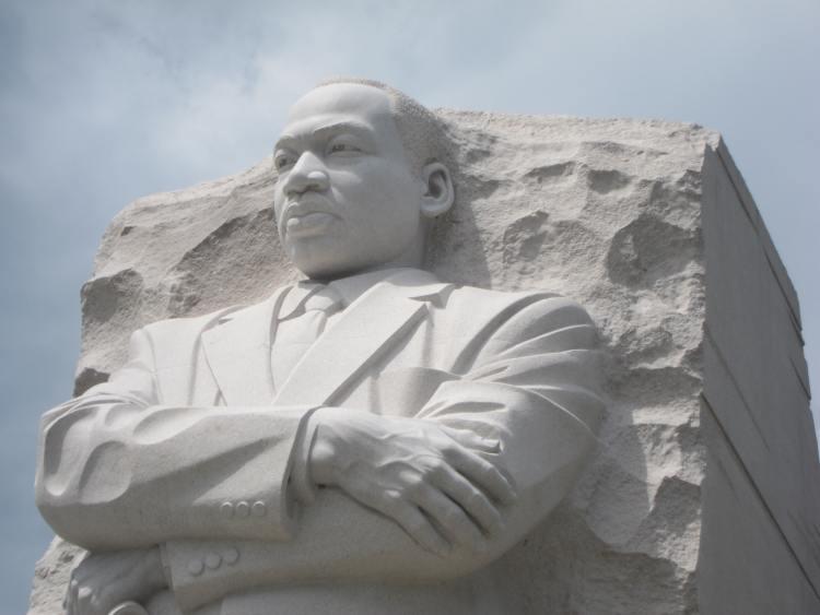 MLK Jr. memorial statue