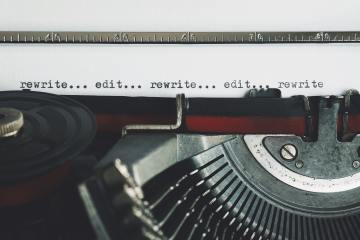 blog post editing and rewriting