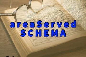 areaServed Schema