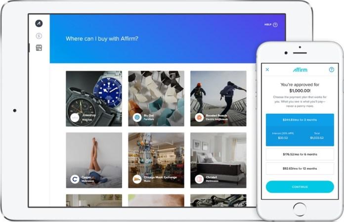 Affirm Screenshot