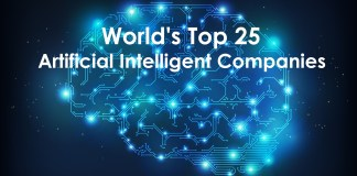 World's Top 25 Artificial Intelligence Companies