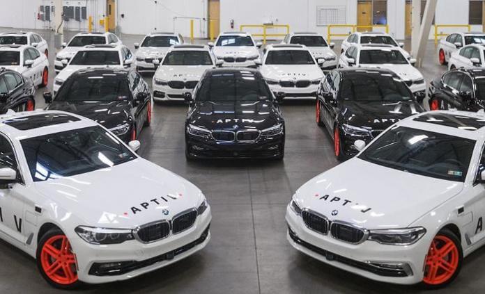 Aptiv Fleet of Self Driving Cars