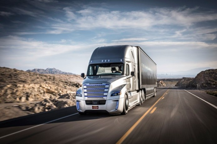 Daimler has been testing their own autonomous trucks