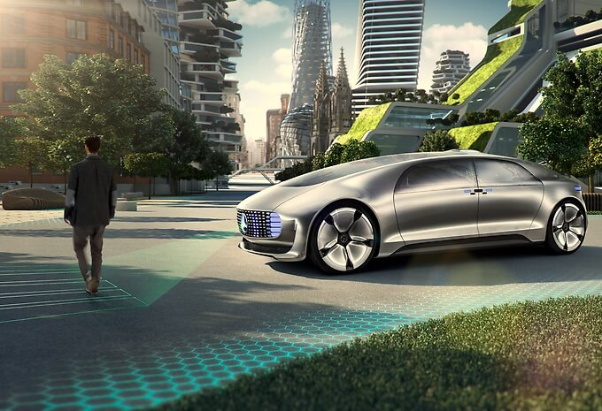 The Mercedes-Benz F015 Luxury in Motion Self Driving Car (1)