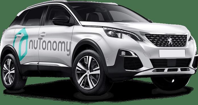 nuTonomy branded cars