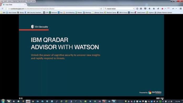 IBM QRadar Advisor