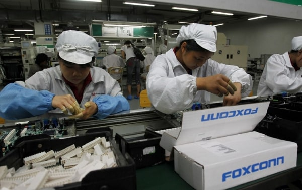 Foxconn to embed data collecting AI powered sensors throughout their manufacturing plant.