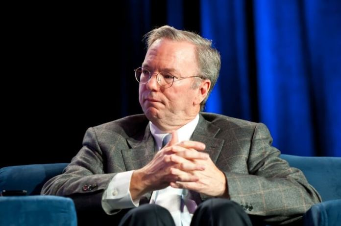 Former chairman of Google, Eric Schmidt is an investor in DE Shaw Hedge fund