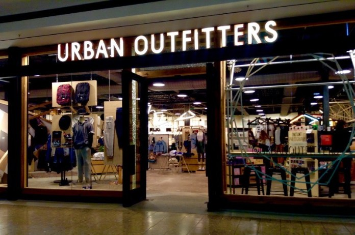 Urban Outfitters uses artificial intelligence in retail to Identify Popular Products