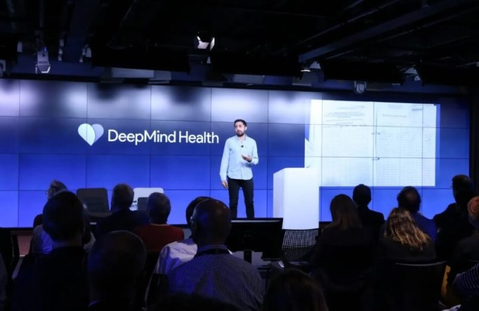 Mustafa Suleyman at a DeepMind Health event Invites discussion with patients and the public