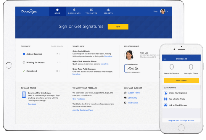 Docusign is backed by Google Ventures, GV is focused on investing in early-stage, often private projects.